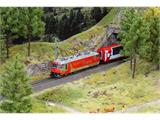 "Bemo 1759161 E-Lok Ge 4/4 III ""Glacier on Tour"" RhB, H0 DC Digital Sound"