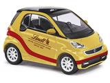 "Busch 46205 Smart Fortwo 2012 ""Lindt"" gold 1/87"